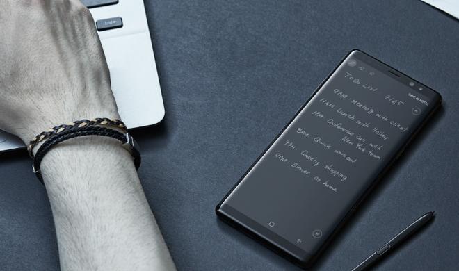 Gesichtserkennung beim Galaxy Note 8 mit Foto ausgetrickst?