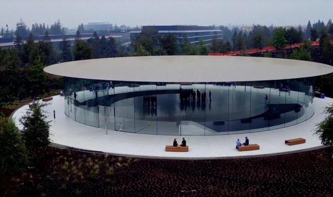 Steve Jobs Theater: Die Vorbereitungen für das iPhone-8-Event haben begonnen