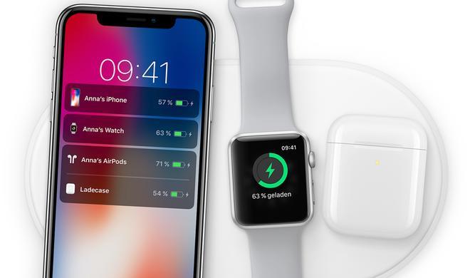 Apple AirPower: Exklusives kabelloses Ladegerät erscheint erst 2018