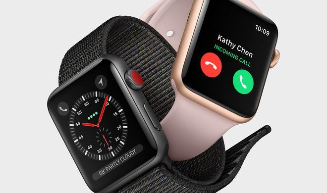 Apple Watch Series 3 mit LTE hält genauso lange durch wie Vorgänger