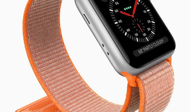 Neue Watch Series 3 in Edelstahl nur mit LTE