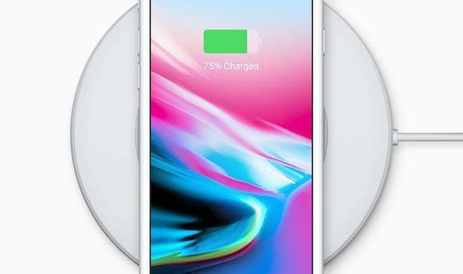 Kabelloses Laden am iPhone 8 wird besser werden: Apple verspricht Software-Aktualisierungen