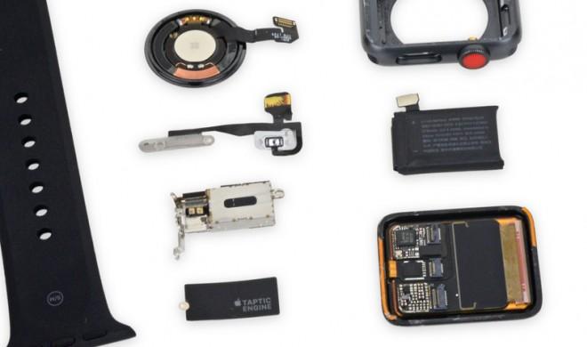 Watch Series 3 auseinandergebaut: Batterie ist größer