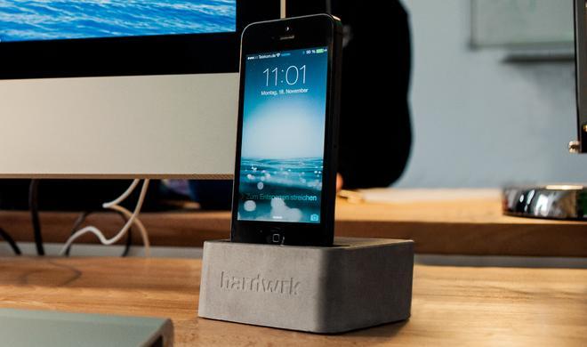 hardwrk Massive Dock: Designer-iPhone-Dock erstmals zum Sonderpreis