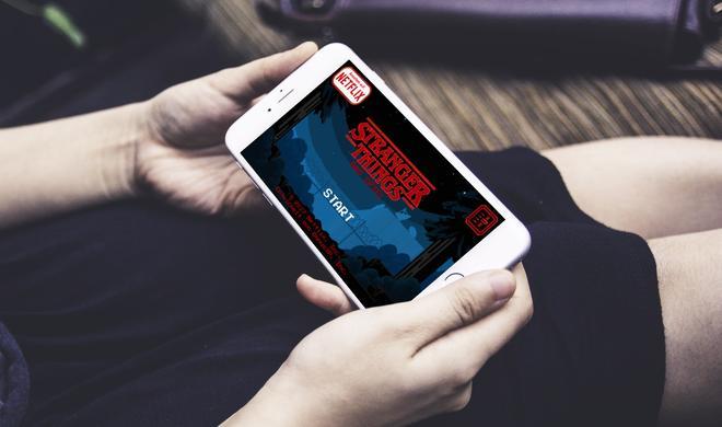 Stranger Things überraschend als Gratis-Spiel für das iPhone erschienen