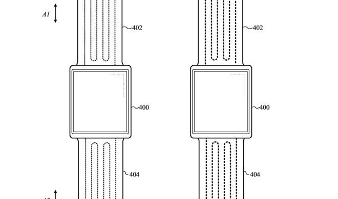 Patent zeigt: Apple experimentiert mit sich selbst anpassendem Watch-Armband