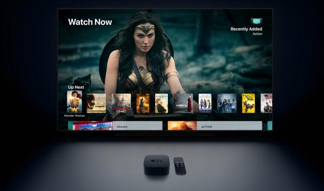 Mühsam ernährt sich das Apple TV (4K): Universalsuche kann jetzt Apple Music