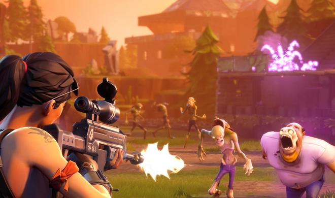 Fortnite für den Mac im Test: Wider der Zombie-Invasion!