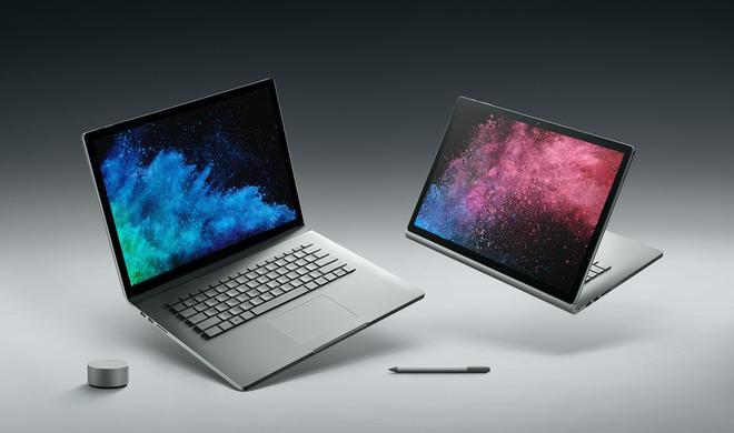 Microsoft teilt aus: Surface Book 2 doppelt so schnell wie MacBook Pro