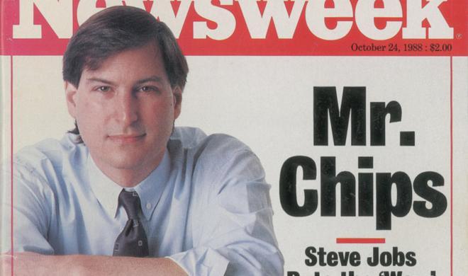 Von Steve Jobs signiertes Magazin kommt unter den Hammer