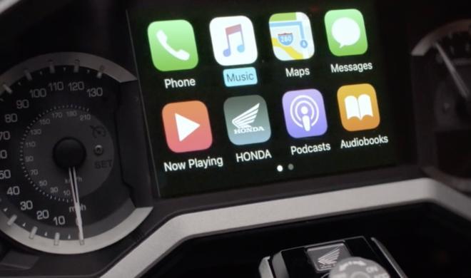 Apple CarPlay im Motorrad: Honda stellt neue Gold Wing vor