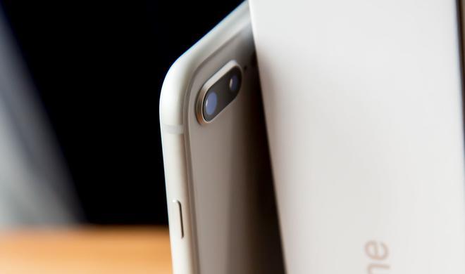 So deaktivieren Sie das Querformat für den Home-Bildschirm am iPhone 8 Plus