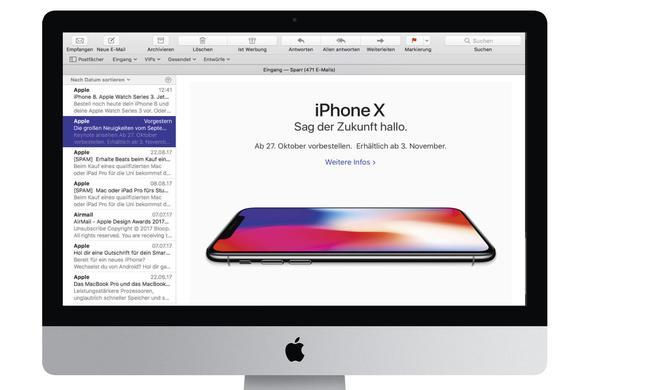 macOS High Sierra: Endlich Mails mit mehr Übersicht!