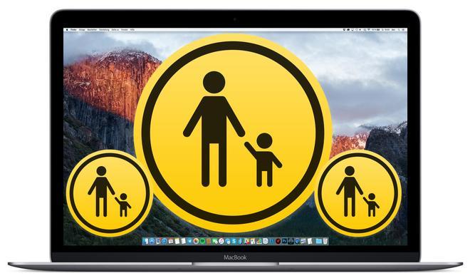 Kindersicherung am Mac: So kopieren die Einstellungen von einem Account auf einen anderen