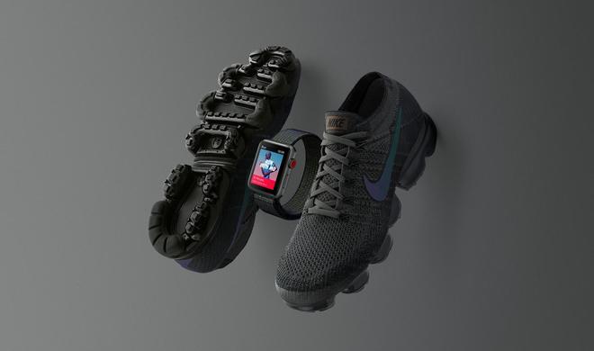 Tiefes Grau mit reflektierenden Akzenten: Neue Nike Apple Watch kommt