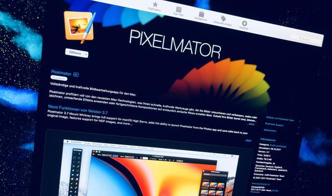 Werden Sie Herr über die Bilder: Pixelmator für macOS stark reduziert