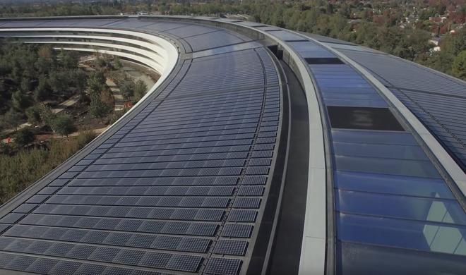 Drohnen-Video: Fast fertiggestellter Apple Park zeigt sich in voller Pracht