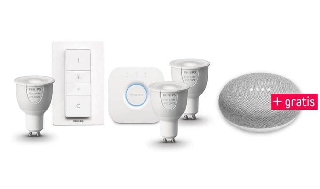 Tolle Rabatte auf Philips Hue und Google Home Mini noch geschenkt