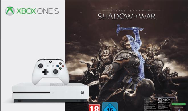 HDR-Gaming zum Schnäppchenpreis: Xbox One S mit Mittelerde: Schatten des Krieges