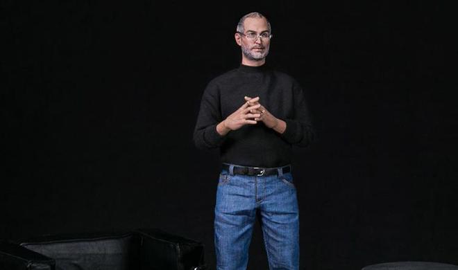 Lebensechte Steve-Jobs-Figur für Fans