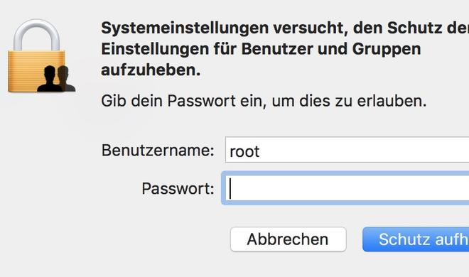 Rootzugriff: Massive Sicherheitslücke in macOS High Sierra