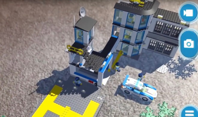 Lego heiratet ARKit