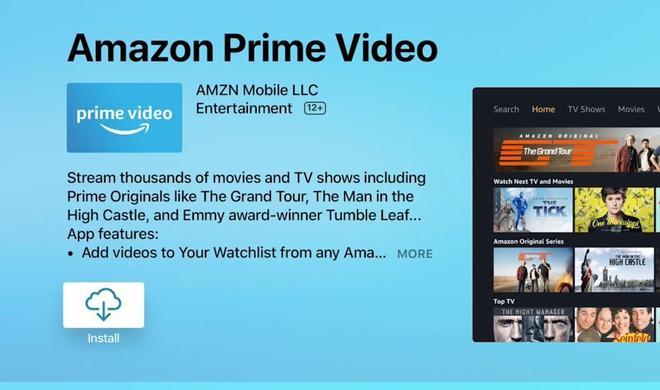 Jetzt ist sie da: Amazon Prime Video App für Apple TV erschienen