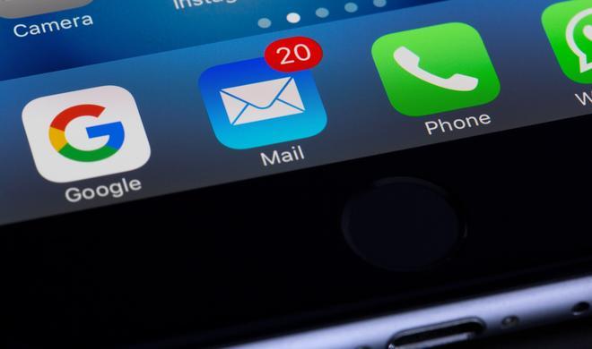 So werden Ihnen am iPhone nur E-Mails mit Anhang angezeigt
