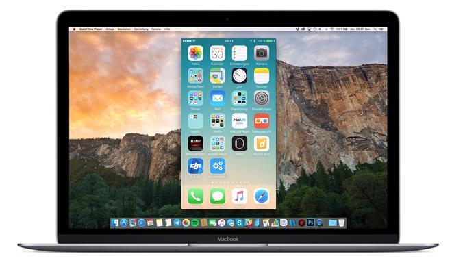 Ohne roten Rand: So nehmen Sie den iPhone-Bildschirm mit QuickTime auf