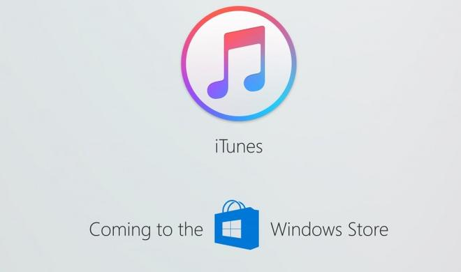 iTunes kommt 2017 nicht mehr in den Windows Store