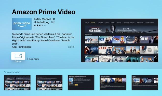 Apple TV: Amazon Prime Video nun auch mit 5.1-Audio bei UHD-Inhalten