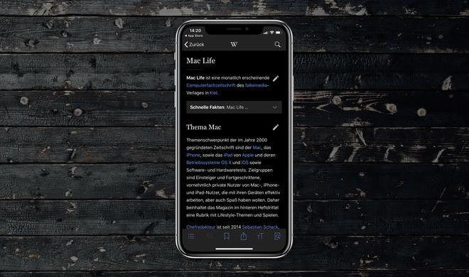 Dark Modus auf dem iPhone X: Diese Apps bieten den OLED-Stromsparmodus schon jetzt