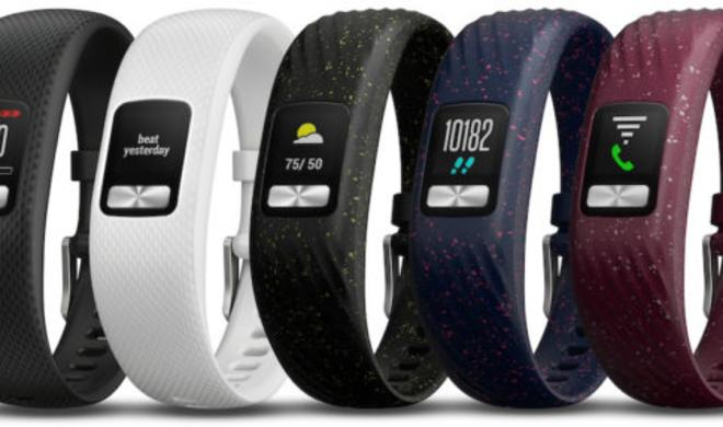Garmin Vivofit 4 Activity Tracker muss ein Jahr nicht aufgeladen werden