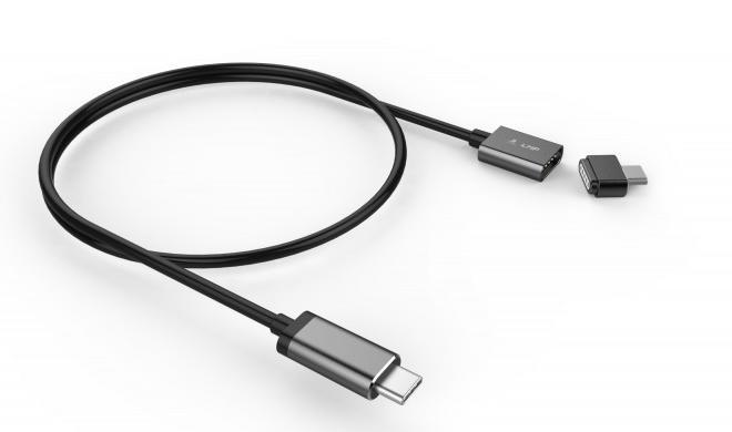 Weiterer Anbieter mit USB-C-Magnetverschluss: Zum Schutz der Kabel am Mac