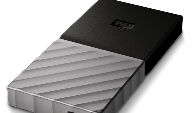 Externe SSD von WD mit USB-C-Anschluss günstiger