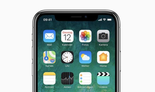 """Ab April müssen alle eingereichten iOS-Apps das """"iPhone X""""-Display unterstützen"""