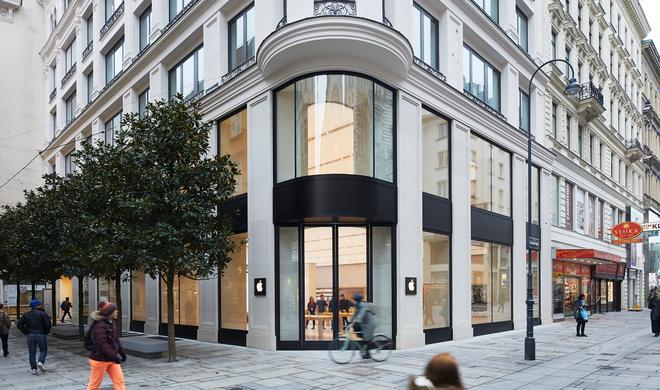 Apple zeigt erste Bilder des neuen Stores in Wien - Eröffnung am Samstag