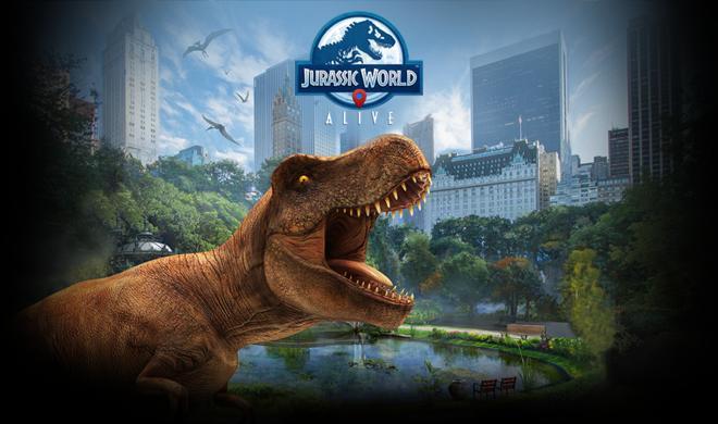 Jurassic World Alive bringt Dinos mit dem iPhone in die Augmented Reality