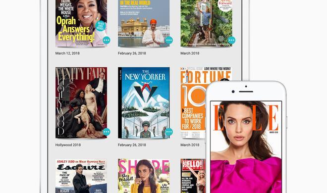 Apple mischt sich ins digitale Abo-Geschäft ein, kauft Texture