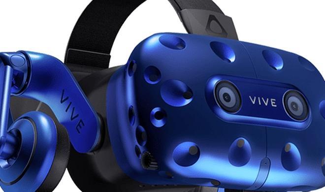 HTC Vive Pro ist da: Virtual-Reality-Headset mit besserer Auflösung