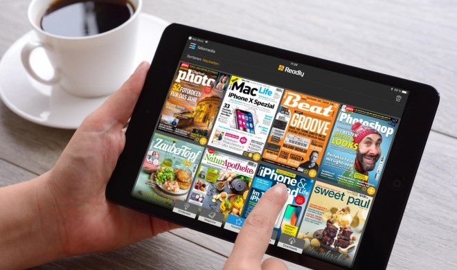 Magazine und Zeitungen auf dem iPad lesen