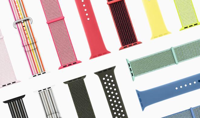 Der Frühling naht: Apple spendiert der Watch neue Armbänder