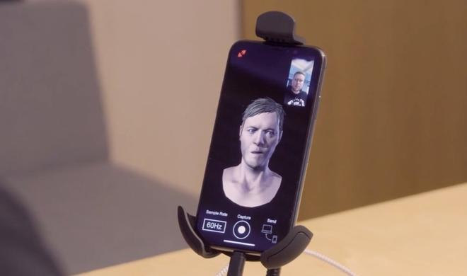 Realistischere Spielecharaktere dank TrueDepth-Kamera des iPhone X