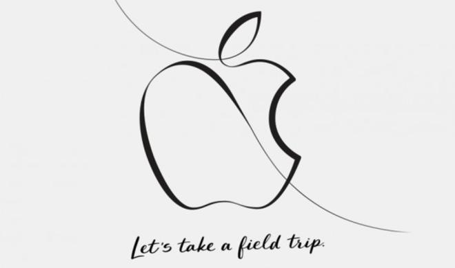 Keine Live-Übertragung von Apples Bildungsveranstaltung