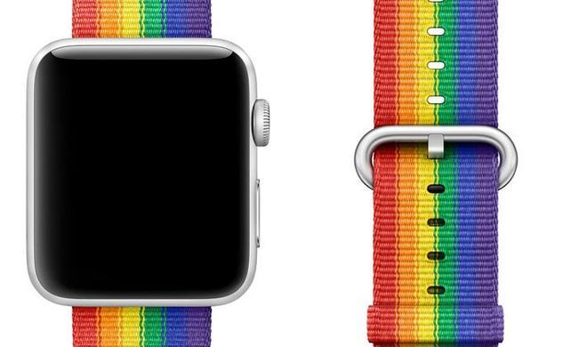 Hinweise auf neues Pride-Zifferblatt für die Apple Watch