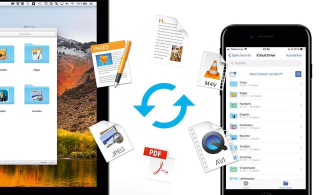 Dateien per iCloud und AirDrop senden - so geht's!
