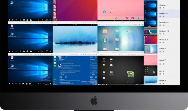 Parallels Desktop 13: 10 Rechner in einem