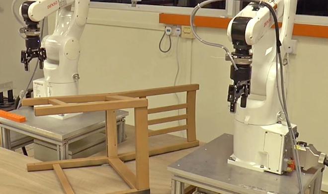 Roboter bauen Ikea-Stühle in neun Minuten zusammen: Muss das sein?