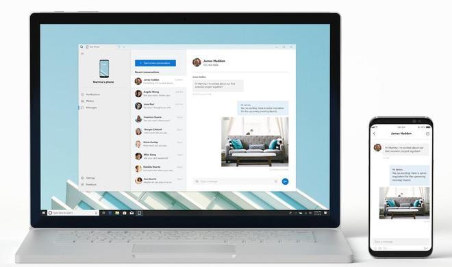 Mit Your Phone: Microsoft bringt das iPhone auf den Windows-Desktop