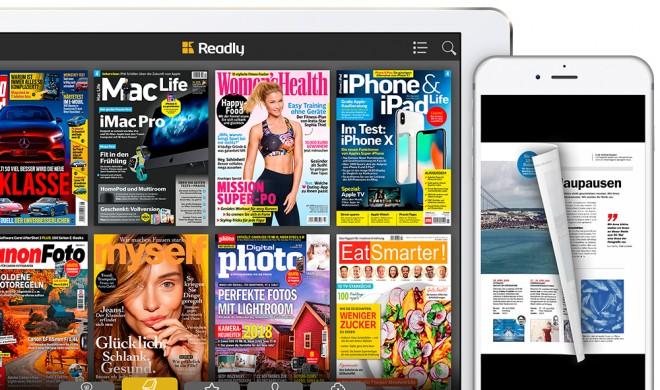 Readly: Zeitschriften-Flatrate buchen und 67 % sparen!